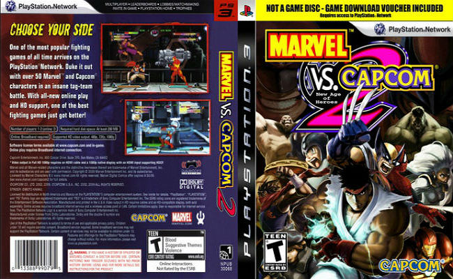 Marvel VS Capcom 2: New Age of Heroes - Review - BLACKBELT